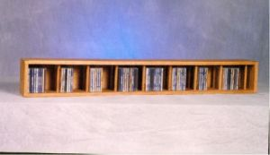 Solid Oak Wall Or Shelf Mount Cd Cabinet Loading Zoom