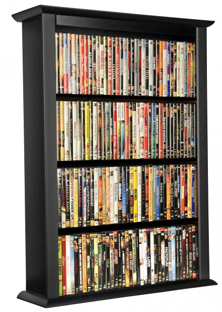 Wall Mounted Cabinet - Single Racksncabinets  sc 1 st  Storehouserock & CD DVD Wall Mount Racks CD Cabinets DVD Cabinets Wall Mount CD ...