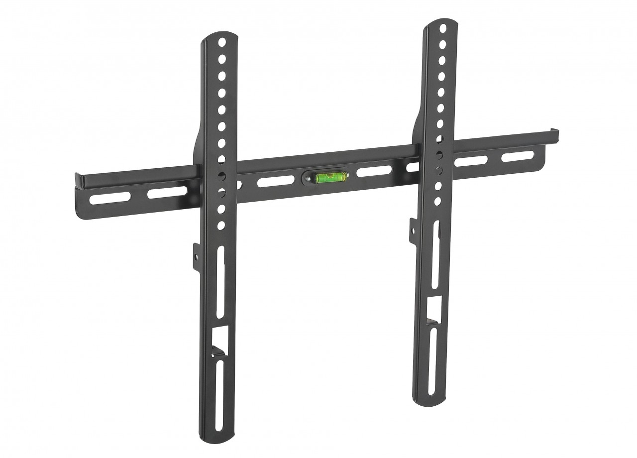 Thin fixed wall mount for 25 inch to 42 inch flat screen tv for Flat screen tv wall mount