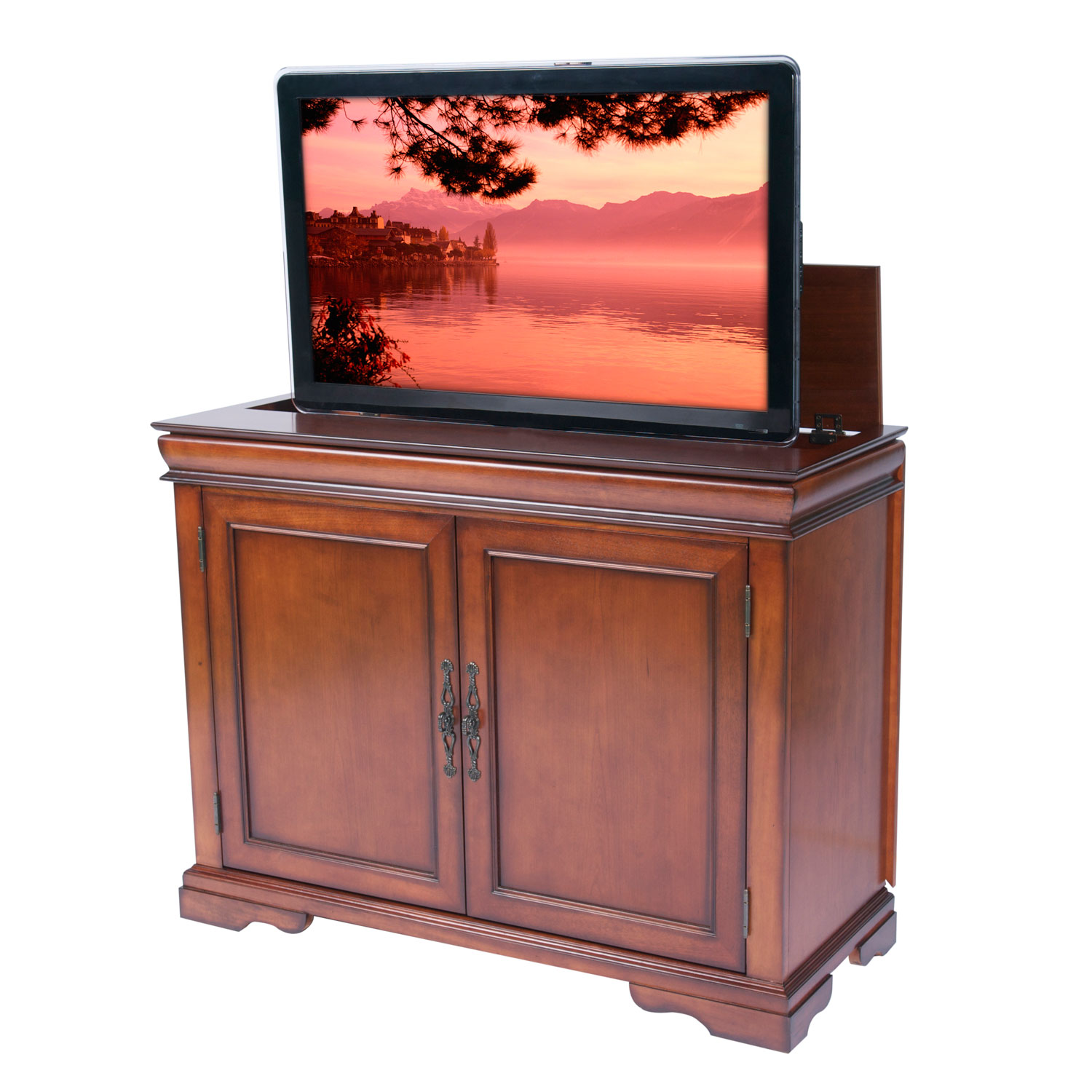 sold tremont tv lift cabinet