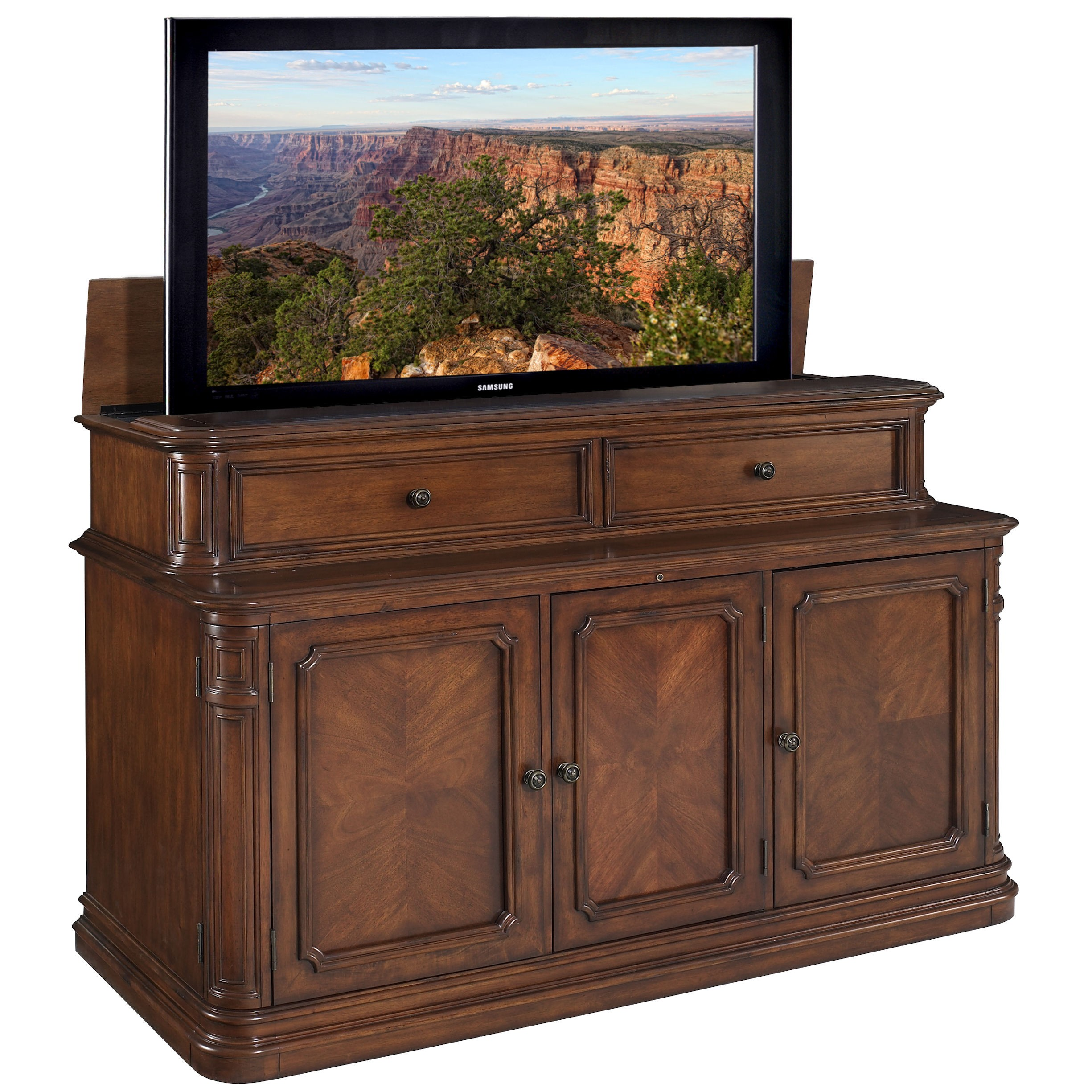 tv excellence cabinets matukewicz television introducing furniture lift blog cabinet jsd lifts