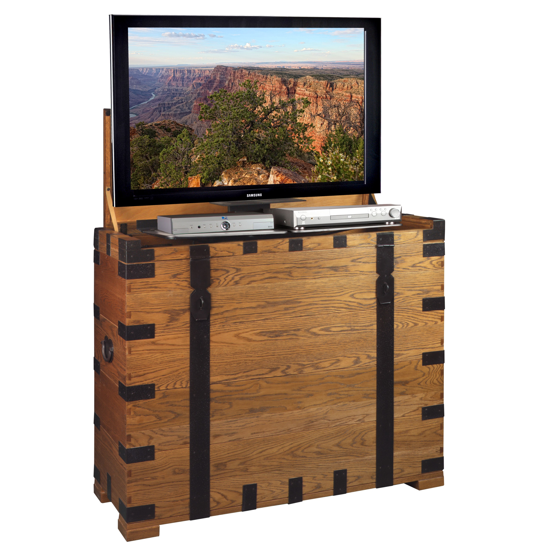 steamer tv lift cabinet