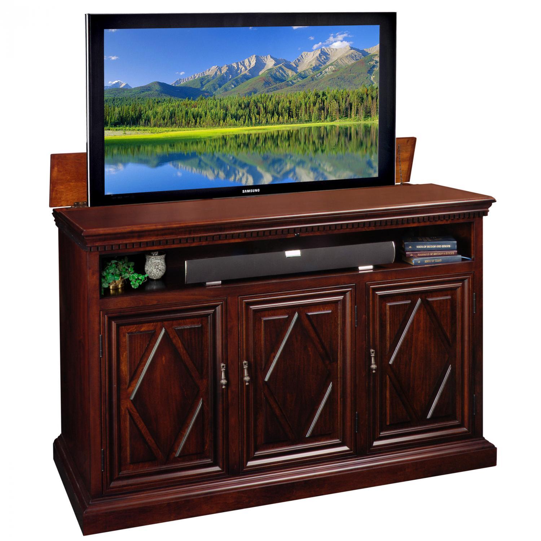 estancia tv lift cabinet. Black Bedroom Furniture Sets. Home Design Ideas