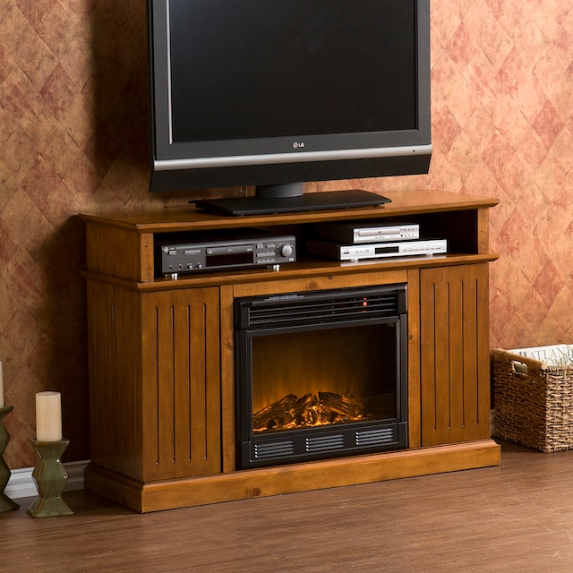 TV Cabinets with Electric Fireplaces