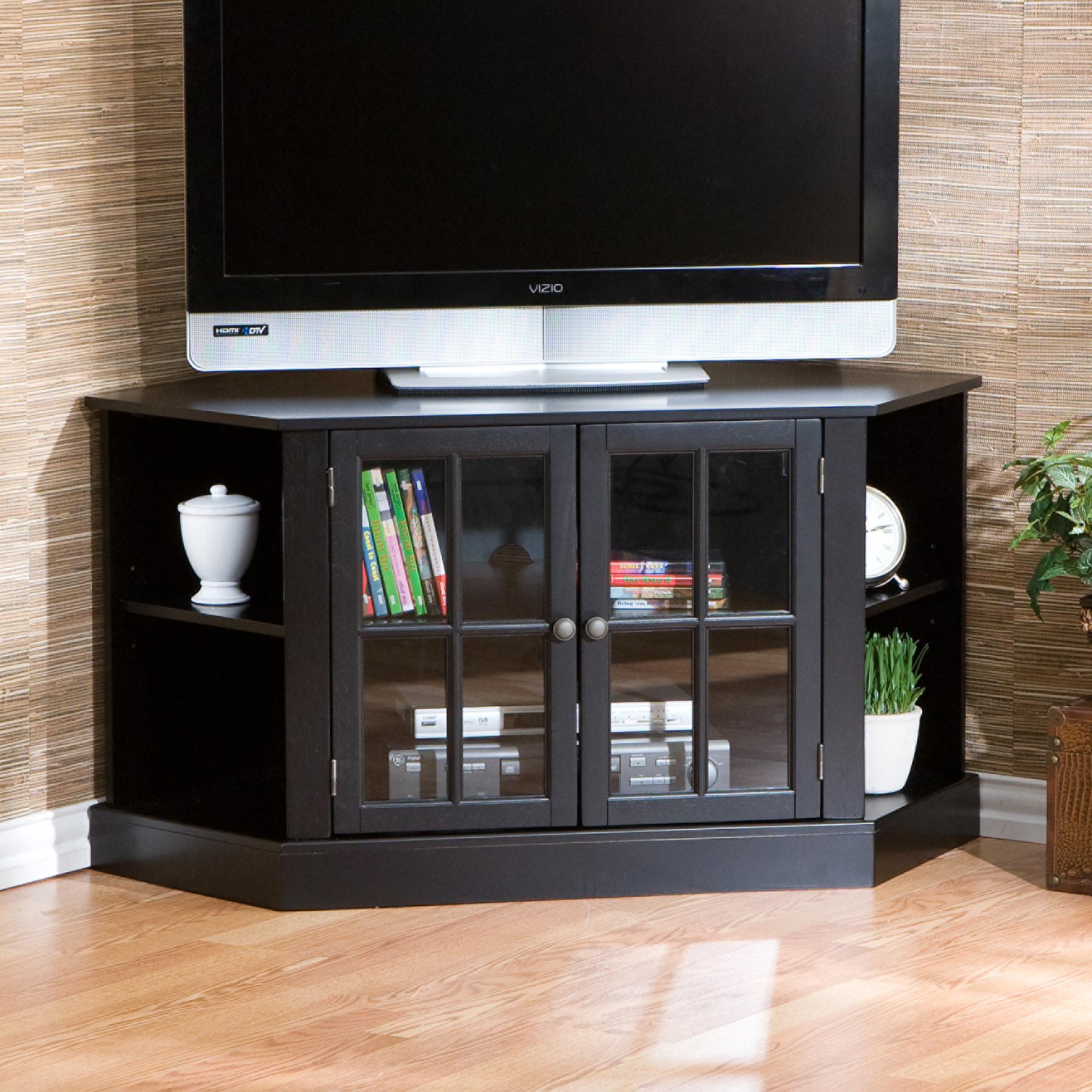 Interesting Tv Stand Design Corner Ideas Simple Design Home