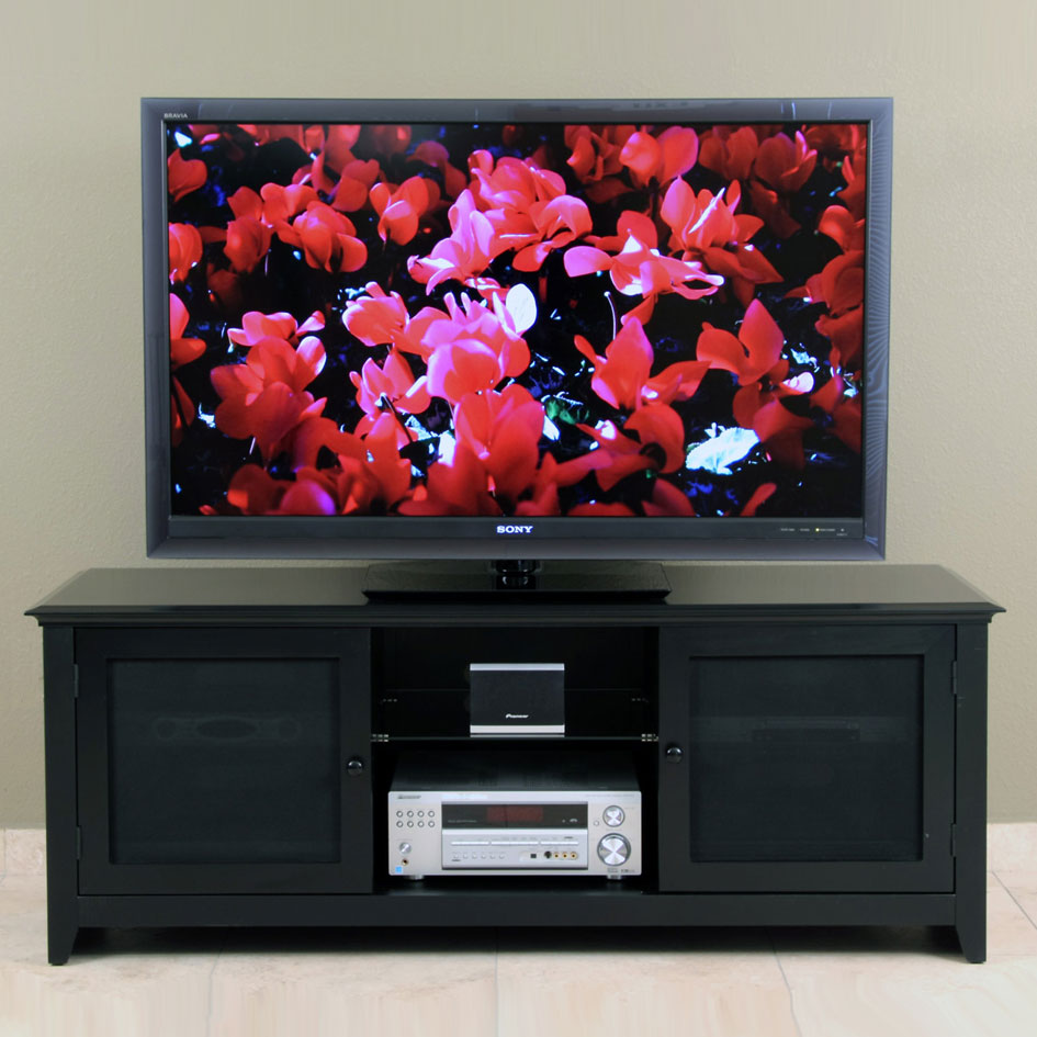 LED/LCD TV Stand for up to 65-inch Plasma, DLP and LCD/LED TVs