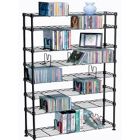 CD DVD Metal Racks