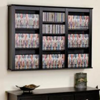 CD DVD Wall Mount Racks