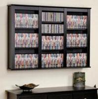 Cd Dvd Wall Mount Racks