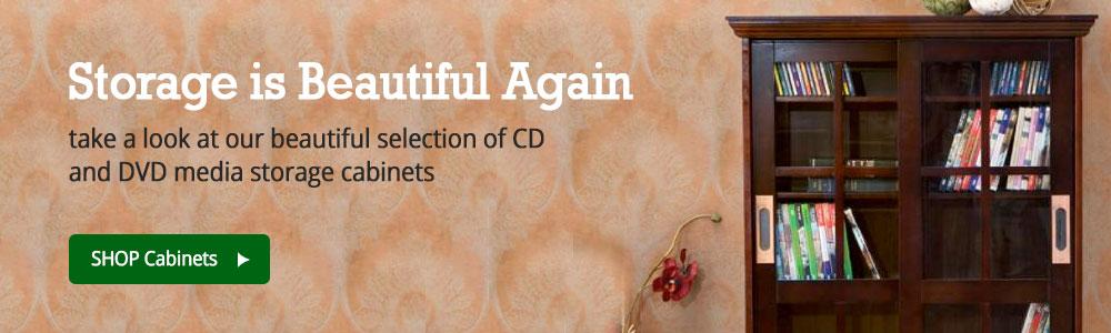 CD/DVD Storage Cabinets
