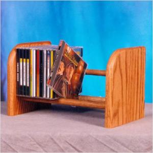 26 CD Dowel Wood Rack