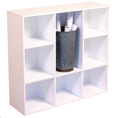 Project Center Bookcase  white