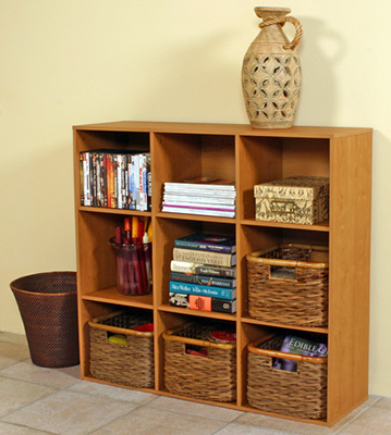 Project Center Bookcase  oak