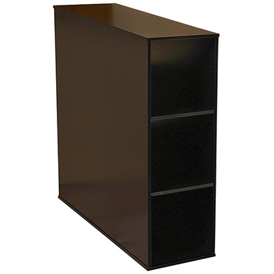 Project Center 3 Bin Cabinet black