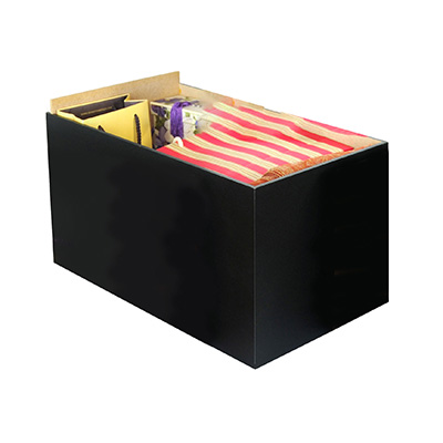 Project Center Drawer-Set of 3 black