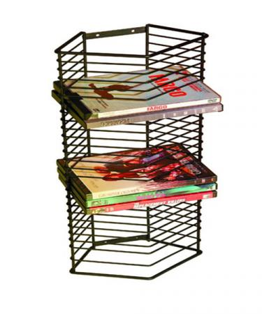 Onyx 28 DVDs/Bluray Tower  sc 1 st  Storehouserock & CD DVD Metal Storage Racks for your Media