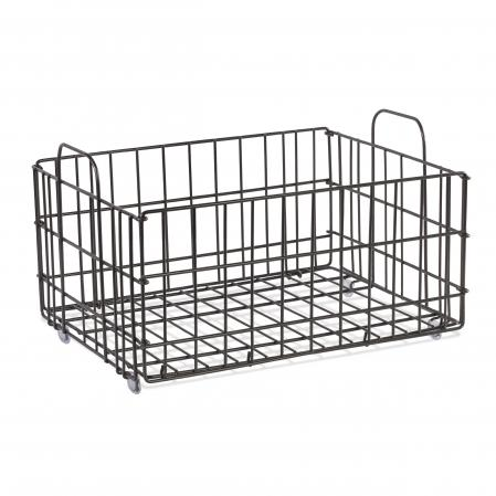 Atlantic Cart System Basket Wire Charcoal