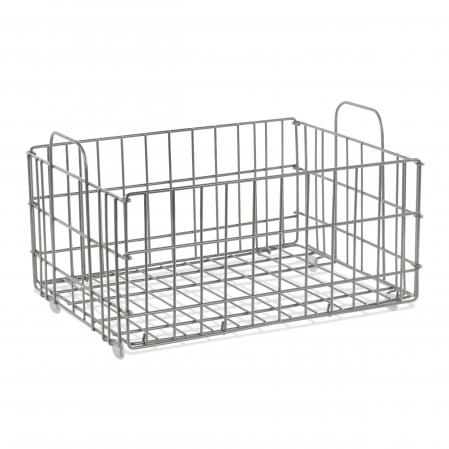 Atlantic Cart System Basket Wire Gray