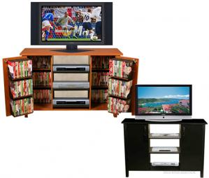 Venture Horizon 47-inch Two-In-One TV Stand / Media Cabinet
