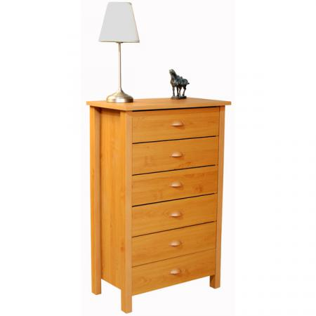 6 Drawer Nouvelle Chest oak