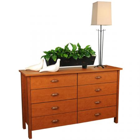 8 Drawer Nouvelle  Dresser  cherry