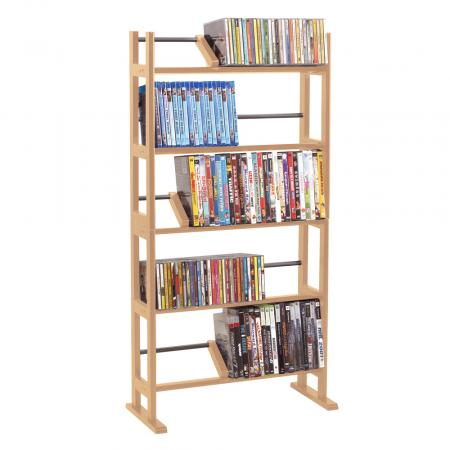 Element Media Rack In Maple