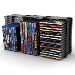 Black Disc Storage Module 45 Cd/21 DVD