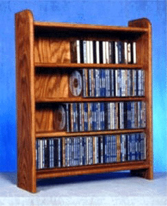 CD floor rack capacity 220 CD's