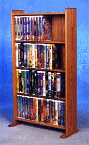160 DVD capacity storage rack