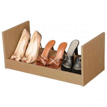 Stackable Shoe Racks oak