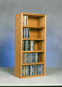Wall Mount CD storage rack Capacity 130 CD's