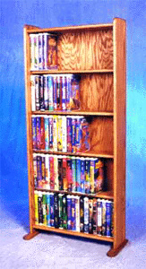 200 DVD storage rack