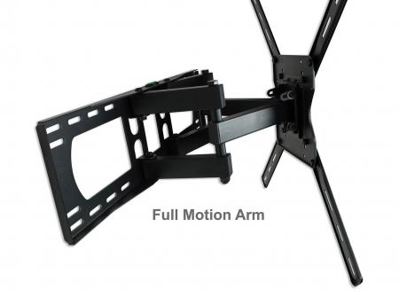 Double Arm TV Wall Mount Full Motion for 32