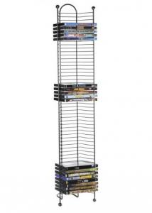 Nestable 52 DVD Or Bluray Tower