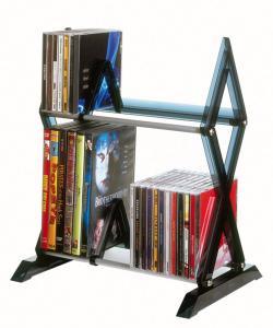 52 Cd/ 36 DVD Mitsu 2 Shelf