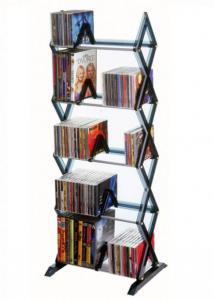 130 CD/ 90 DVD Mitsu 5 shelf