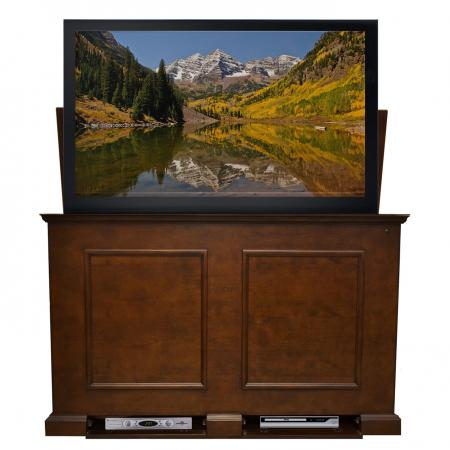 Grand Elevate Espresso TV Lift Cabinet