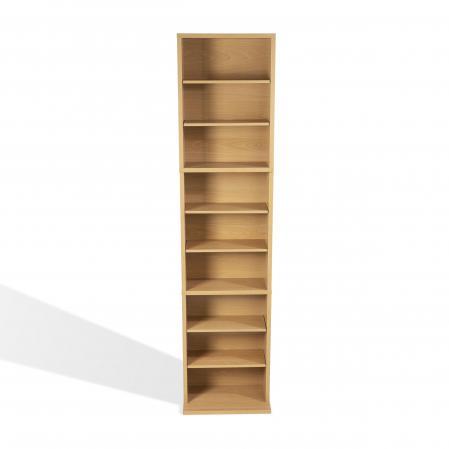 Summit Media Storage Cabinet In Maple