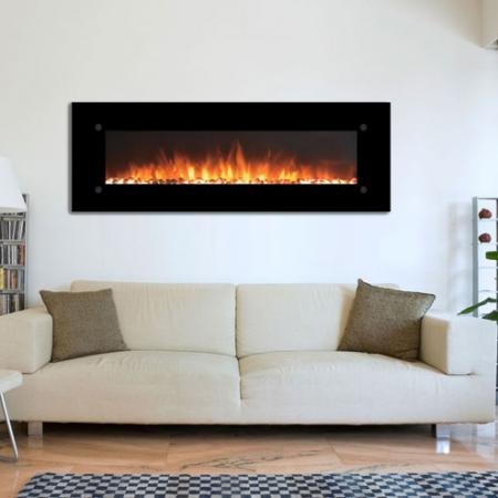Onyx Xl 72 Wall-Mounted Fireplace