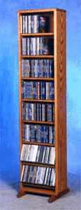 208 CD dowel storage Rack