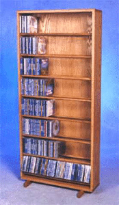 440 CD storage dowel rack