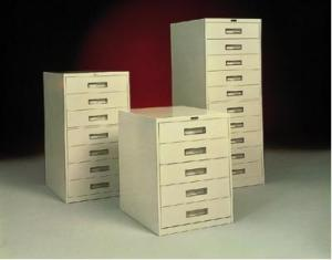 Tall Vertical 8 Drawers
