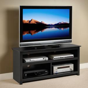 Black Vasari Flat Panel Plasma / LCD TV Console
