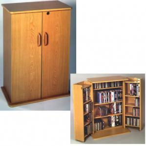 Deluxe Locking Multi-Media Cabinet
