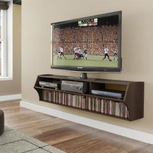 Espresso Altus Plus 58-inch Floating TV Stand
