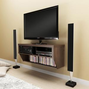 Espresso 42 Wide Wall Mounted AV Console