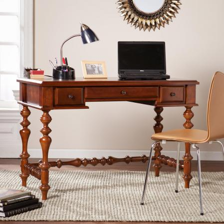 Huntleigh Turned-Leg Desk