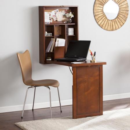Wall Mount Fold-Down Desk