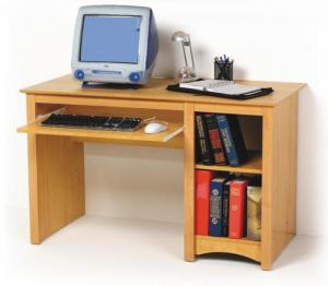 SOLD Maple Computer Desk