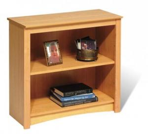 SOLD Maple 2-shelf Bookcase